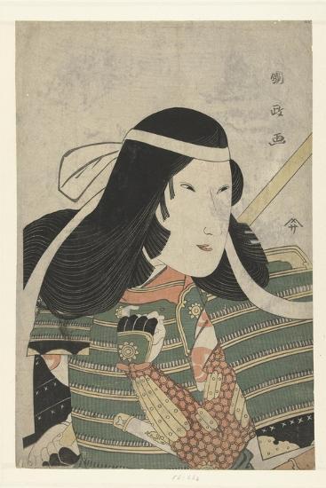 Iwai Kumesaburo as Tomoe Gozen, 1797-Utagawa Kunimasa-Giclee Print