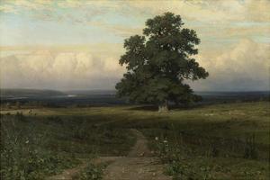 Mitten in Der Weite, 1883 by Iwan Iwanowitsch Schischkin