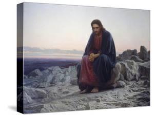Christ in the Desert, 1872 by Iwan Kramskoi