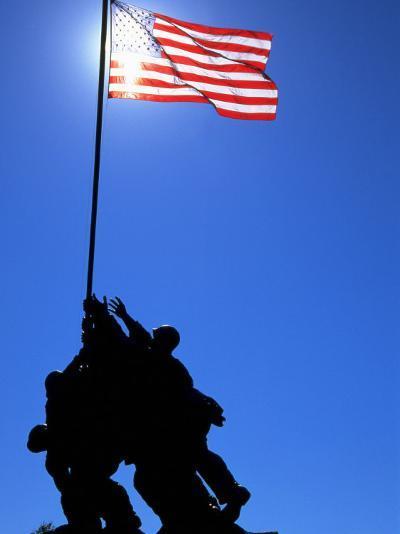 Iwo Jima Memorial, Arlington, VA-Jeff Greenberg-Photographic Print