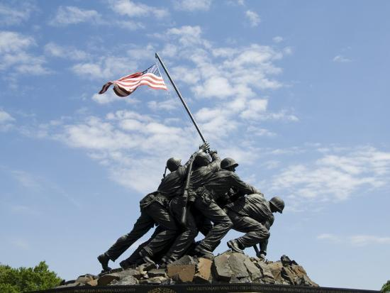 Iwo Jima Memorial, Arlington, Virginia, United States of America, North America-Robert Harding-Photographic Print