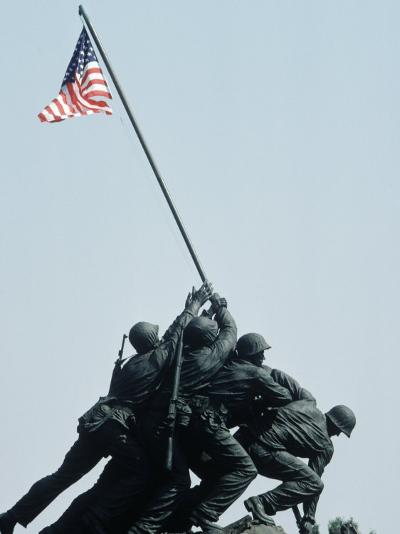 Iwo Jima Statue, Washington DC-Chris Minerva-Photographic Print