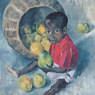 Fito, Twin Son of Abel, Haiti, 1961