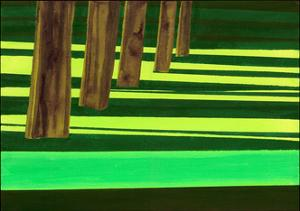 Kensington Gardens Series: Dazzle, 2007 by Izabella Godlewska de Aranda
