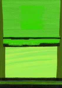 Kensington Gardens Series: Green on Green by Izabella Godlewska de Aranda