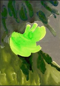 Kensington Gardens Series: Leaf Cascade, 2007 by Izabella Godlewska de Aranda