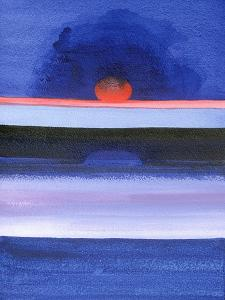 Seascape, Sunset, Helsinki, 1991 by Izabella Godlewska de Aranda