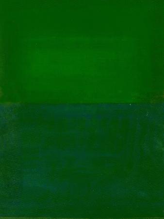 Space, Time, Motion, Green, 2010 by Izabella Godlewska de Aranda