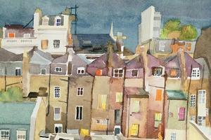 View from Rear Window of 48 Chester Square, SW1, 1982 by Izabella Godlewska de Aranda