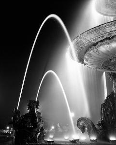 Place de la Concorde 1949 by Izis