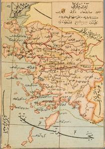 Izmir Region of Turkey - Map