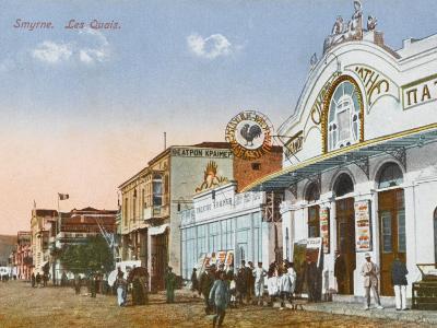 Izmir (Smyrne), Turkey - the Greek Cinema Down by the Quayside--Photographic Print