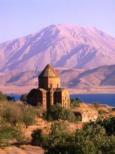 Akdamar Church and Van Lake, Van, Turkey by Izzet Keribar