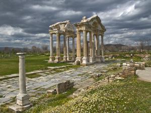 Aphrodisias Tetrapylon by Izzet Keribar