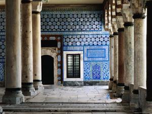 Circumcision Room's Door, Topkapi Palace by Izzet Keribar