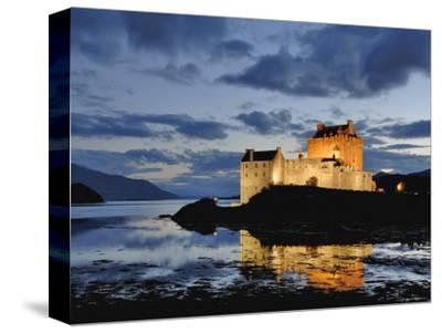 Eilean Donan Castle Kyle Scotland Wide Canvas Wall Art Print