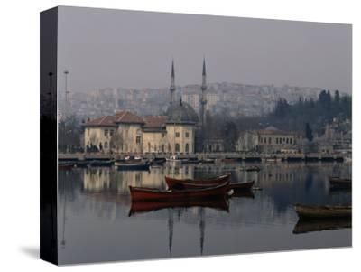 Foggy Day Over Eyup Waterfront, Istanbul, Istanbul, Turkey