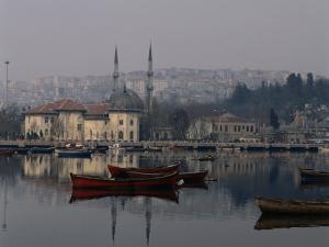 Foggy Day Over Eyup Waterfront, Istanbul, Istanbul, Turkey by Izzet Keribar
