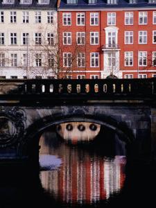 Houses on Gammelstrand, Copenhagen, Denmark by Izzet Keribar
