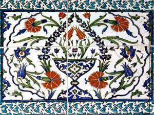 Iznik Tiles Detail at Hunkar Kasri by Izzet Keribar