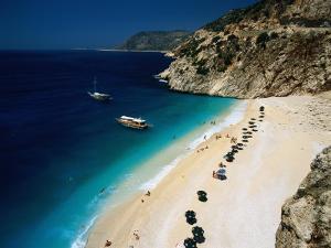 Kaputas Cove and Beach by Izzet Keribar
