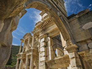 Library of Celsus at Ephesus by Izzet Keribar