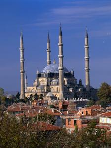 Selimiye Mosque, Edirne, Turkey by Izzet Keribar
