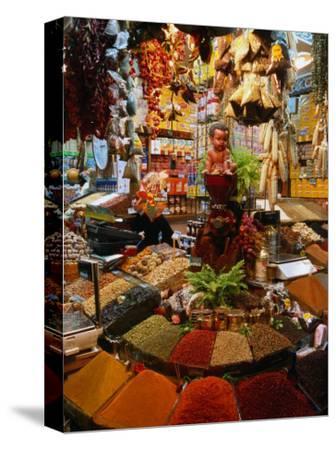 Spice Stall at Misir Carsisi in Eminonu, Istanbul, Turkey