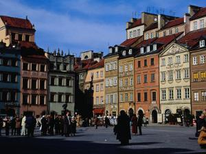 Stare Miasto, Old Town Square, Warsaw, Poland by Izzet Keribar