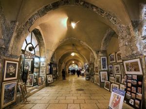 The Cardo in the Jewish Quarter by Izzet Keribar