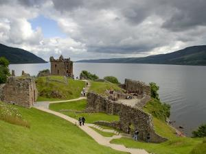 Urqhart Castle and Loch Ness by Izzet Keribar
