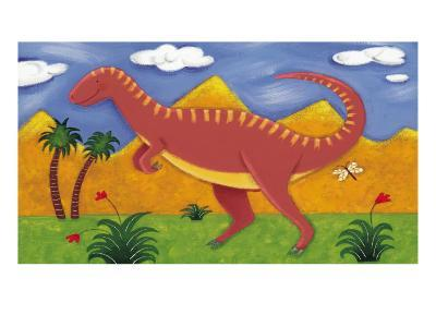Izzy the Iguanodon-Sophie Harding-Premium Giclee Print