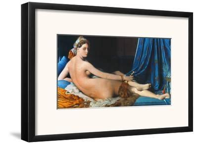 J.A.D. Ingres: Odalisque-Jean-Auguste-Dominique Ingres-Framed Giclee Print