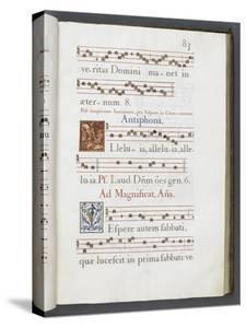 Graduale romanum, exécuté par P. Louis Blouin by J.B. de Bray