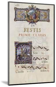Graduale romanum, exécuté par P. Louis Blouin: by J.B. de Bray