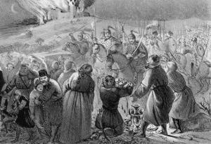 Genghis Khan Invades the West by J.b. Gatti