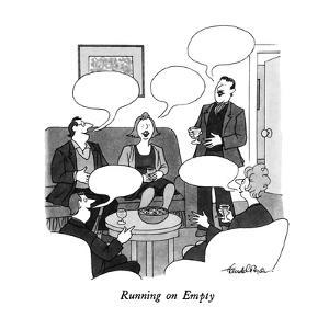 """Running on Empty"" - New Yorker Cartoon by J.B. Handelsman"