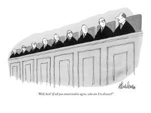 """""""Well, heck! If all you smart cookies agree, who am I to dissent?"""" - New Yorker Cartoon by J.B. Handelsman"""