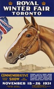 Royal Winter Fair Toronto Poster by J.B. Massie