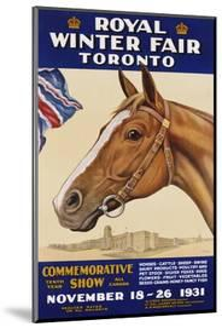 Royal Winter Fair Toronto Poster by J.B. Massie