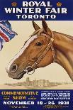 Royal Winter Fair Toronto Poster-J.B. Massie-Giclee Print