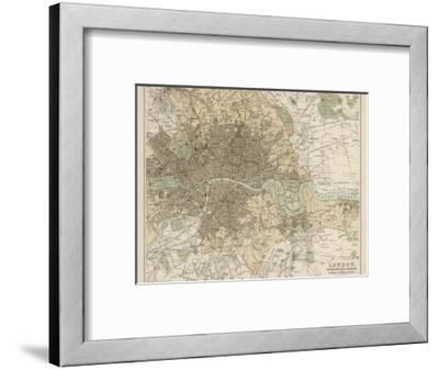 Beautiful Maps of London framed-posters artwork for sale, Posters ...