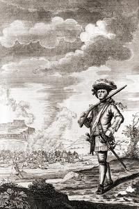 Captain Henry Morgan by J. Basire