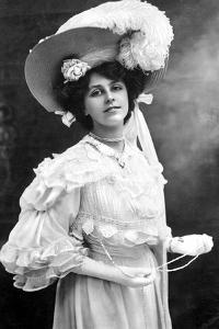 Dora Barton, English Actress, 1900s by J Beagles & Co