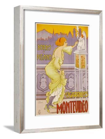 Montevideo Cigarrillos Poster