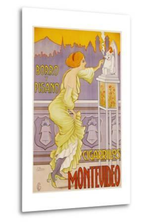 Montevideo Cigarrillos Poster