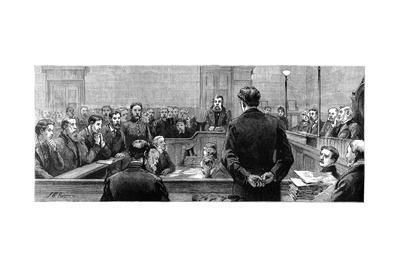Socialist Leaders at Bow Street Police Court Following Riots in the West-End of London