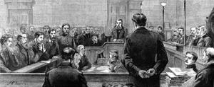 Socialist Leaders at Bow Street Police Court Following Riots in the West-End of London by J Brown