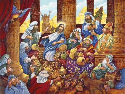 J.C. and Money Lendors-Bill Bell-Giclee Print