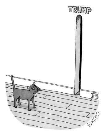 TRUMP - New Yorker Cartoon